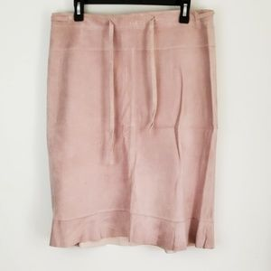 Abercrombie & Fitch : Genuine Pink Leather Pencil